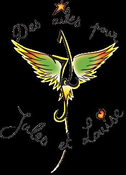 Logo Des ailes pour Jules et Louise